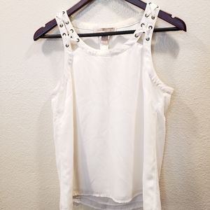 Forever 21 White Top Sz XS